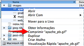 mac os x zip file control