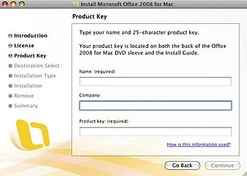 office 2008 product key