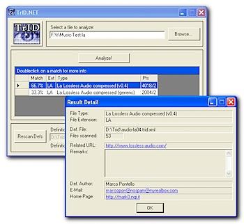 tridnet - file extension identifier