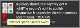 tweetdeck retweet