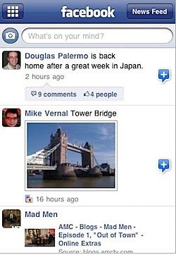 facebook iphone 3.0