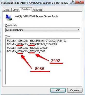 propriedades gerenciador dispositivos hardware id-1