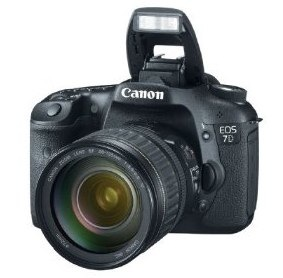 Canon EOS 7D 18 MP CMOS Digital SLR Camera with 3-inch LCD and 28-135mm
