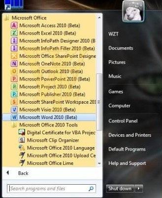 Microsoft Office 2010 Beta 1 Mondo Build 14.0.4417.1000