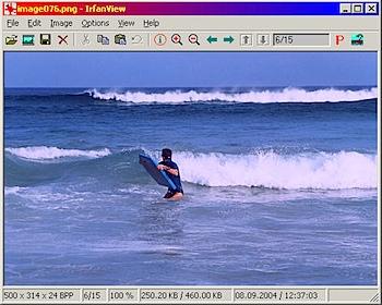 irfanview screen
