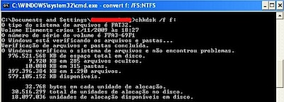 chkdsk windows