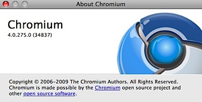 Chromium mac extensions
