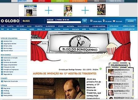 Blog do Bonequinho Globo