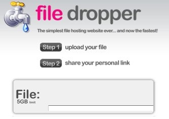 File Dropper_ File Host for Mp3, Videos, Music, Documents