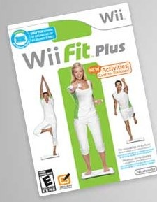 Wii at Nintendo fit