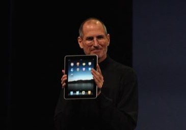 steve jobs The Apple iPad