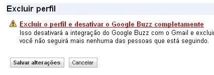 google buzz deactivate