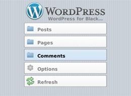 wordpress blackberry
