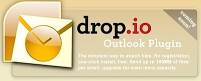 drop.io Outlook Plugin