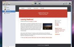 rapidweaver website mac create