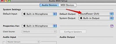 Audio MIDI Setup
