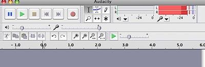 Audacity recording monitor