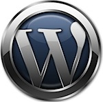 wordpress shiny logo
