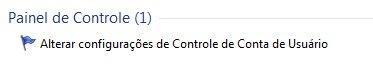 Windows 7 painel de controle uac