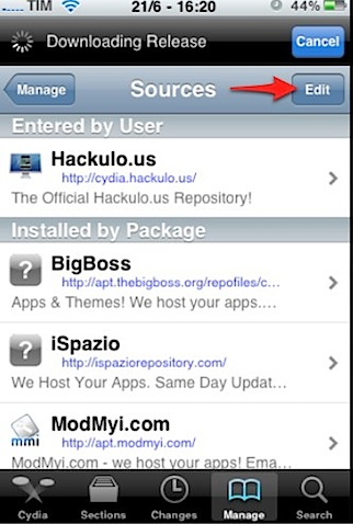 iphone cydia sources edit