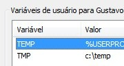 windows 7 tmp variable