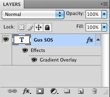 Photoshop layers blending options
