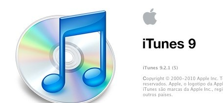 about  iTunes 9.2.1