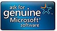 windows genuine microsoft logo