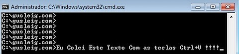 Windows command prompt dos ctrl v paste