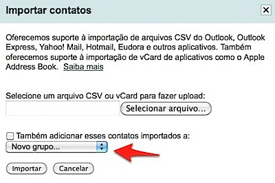 gmail import csv outlook