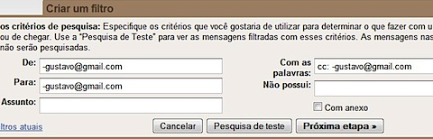 gmail smart filter