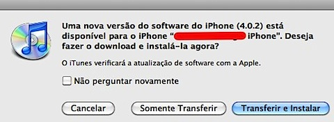 iTunes  iphone 4.0.2