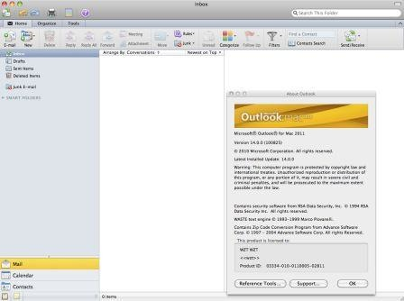 office 2011 outlook mac