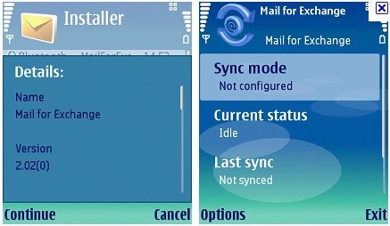 mail for exchange nokia