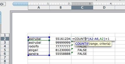 Microsoft Excel remove duplicate