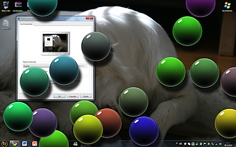 windows 7 screen saver bubbles custom
