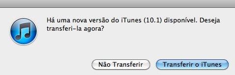 iTunes 10.1 update