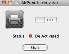 AirPrint Hacktivator