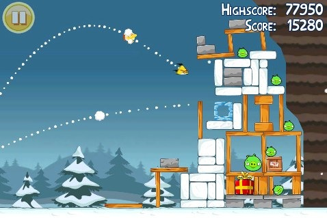 Angry Birds Seasons for iPhone, iPod touch, and iPad on the iTunes App Store