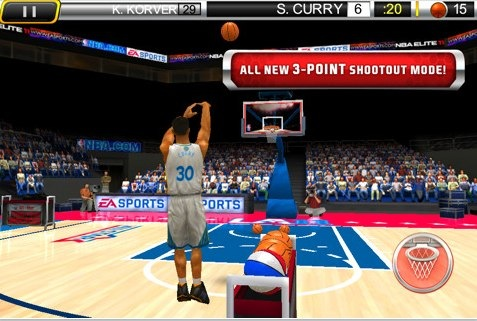 NBA Elite 11 iphone