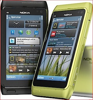 nokia n8 red yellow