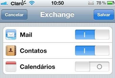 iPhone exchange hotmail activesync mail