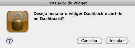 Instalador do Widget dashlock