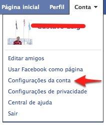 Minha conta facebook