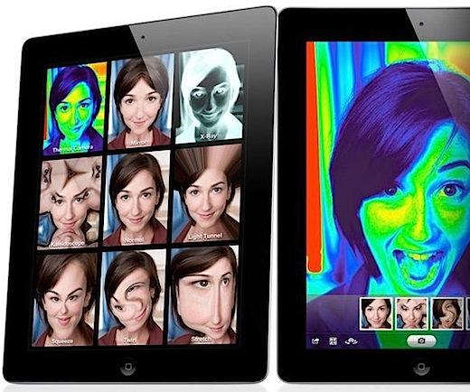 foto ipad 2 camera front