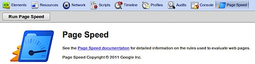 google page speed chrome