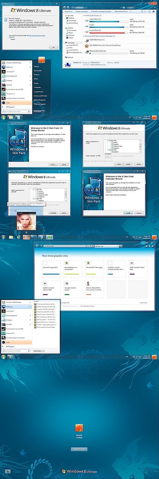 tema windows 8 para windows 7