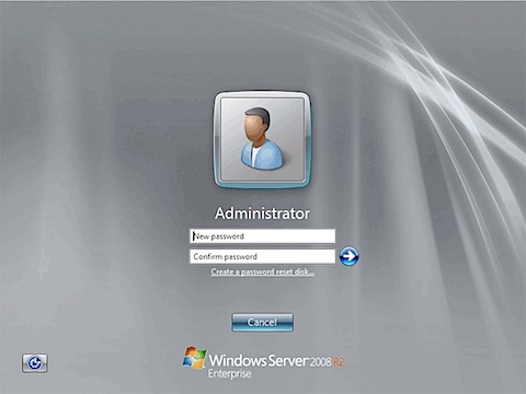 2011 windows 8 server login screen