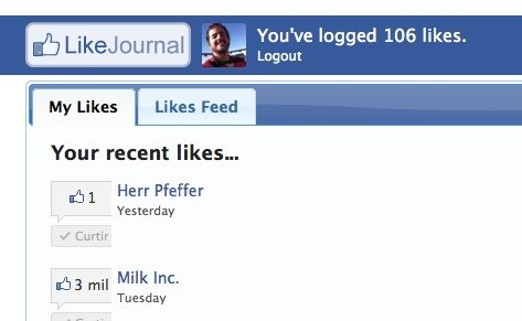 LikeJournal - Facebook Like Button