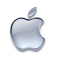 mac apple logo silver